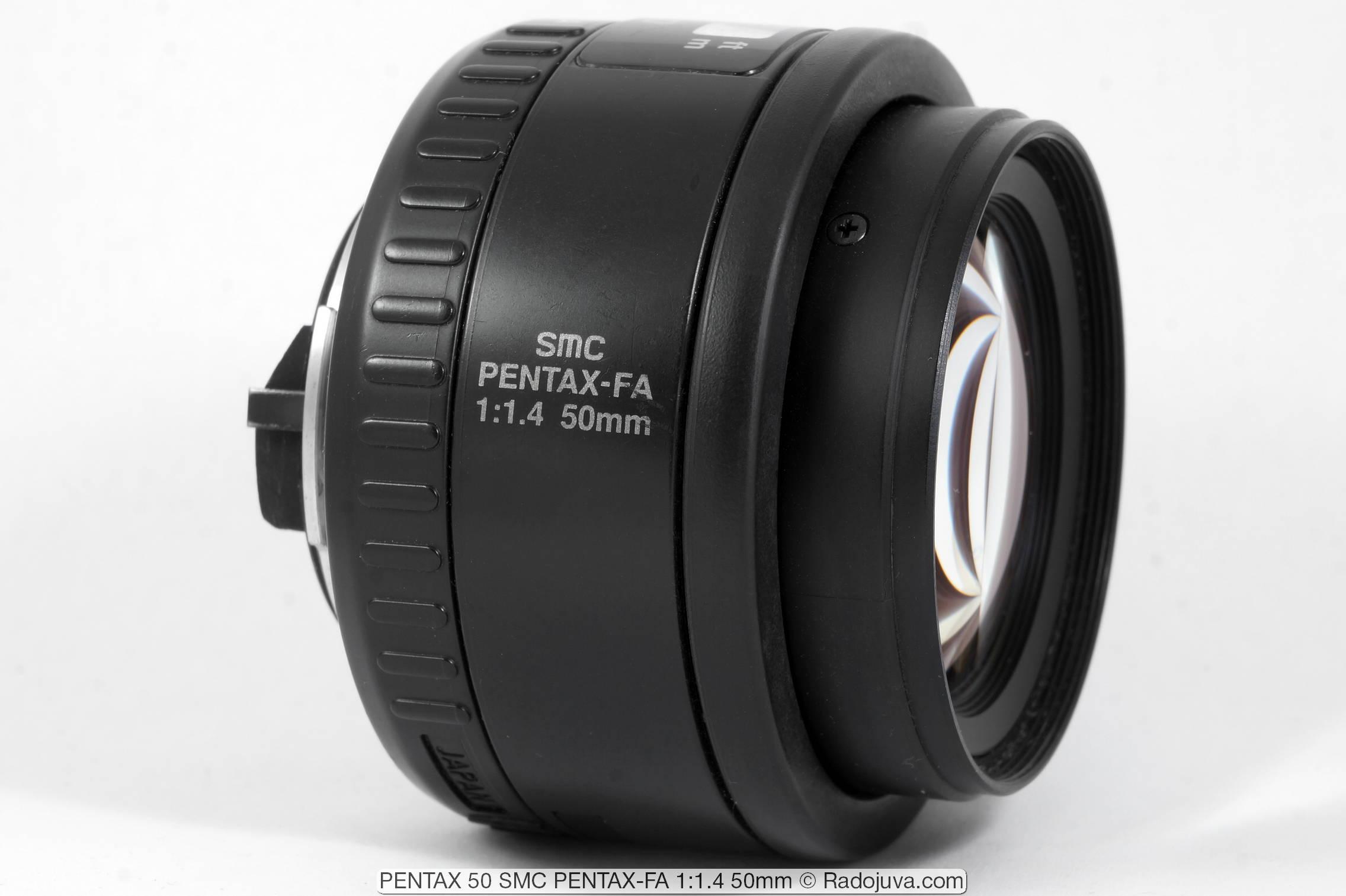 PENTAX 50 SMC PENTAX-FA 1:1.4 50mm