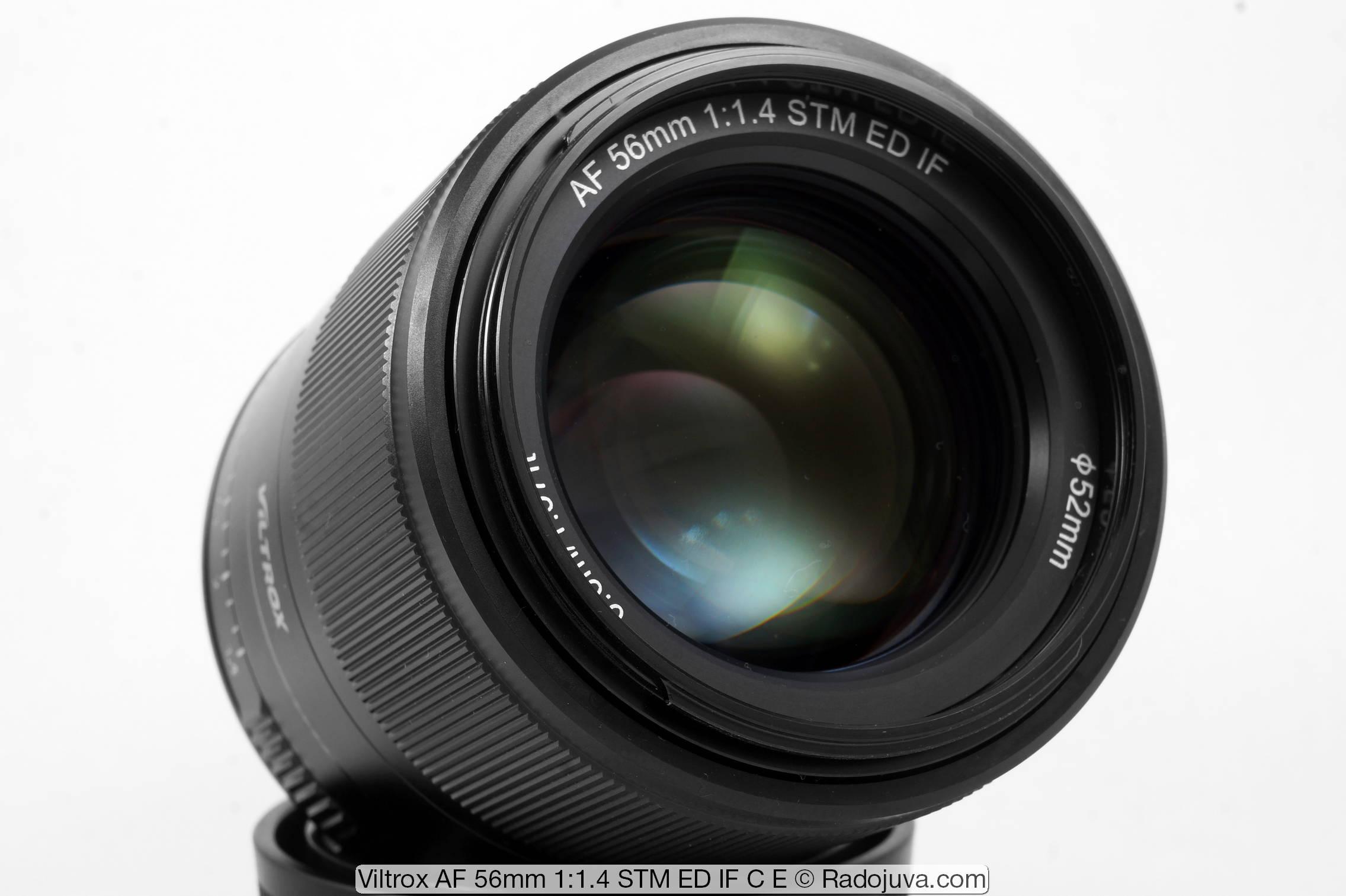 Viltrox AF 56mm 1:1.4 STM ED IF C E под байонет Sony E-mount