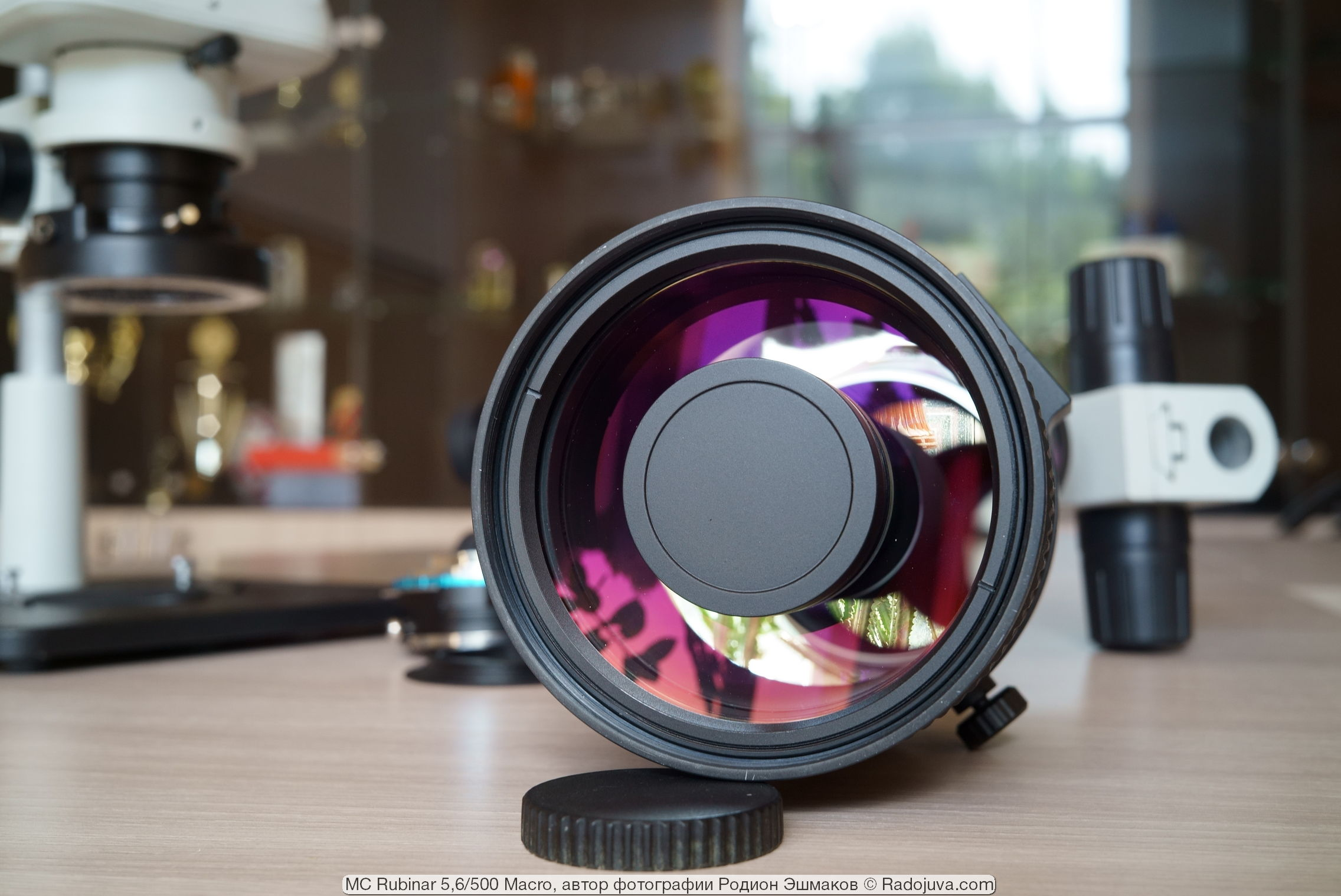 Просветление рубинарам подбирали не под цвет ли Al2O3:Cr2O3?