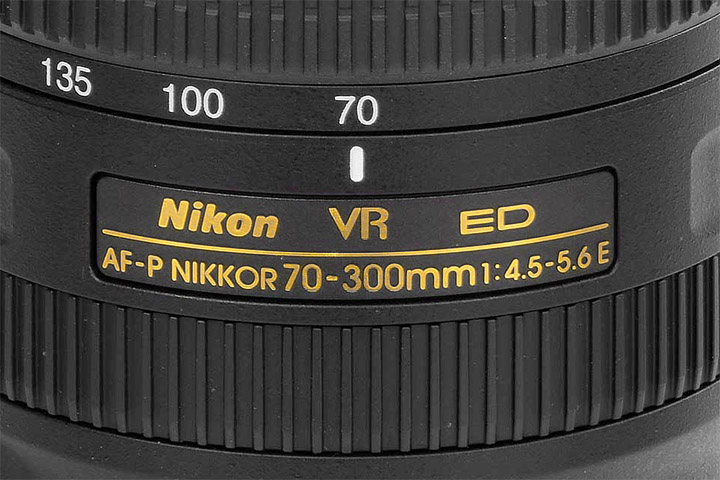 Nikon AF-P Nikkor 70-300mm 1:4.5-5.6E VR ED