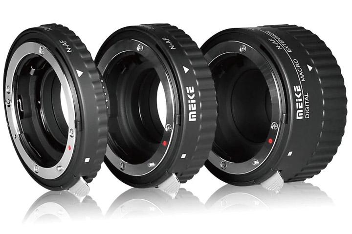Extension rings for Nikon F lenses
