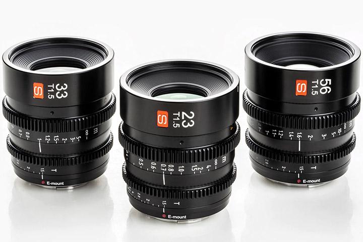 объективы Viltrox 23/33/56 T/1.5 S для видеосъемки