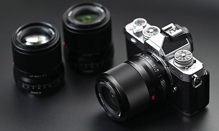 Viltrox 23/1.4, 33/1.4, 56/1.4 для Nikon Z DX (APS-C)