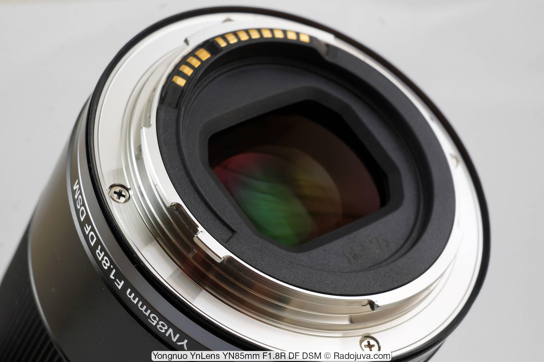 Yongnuo YnLens YN85mm F1.8R DF DSM (для Canon RF)