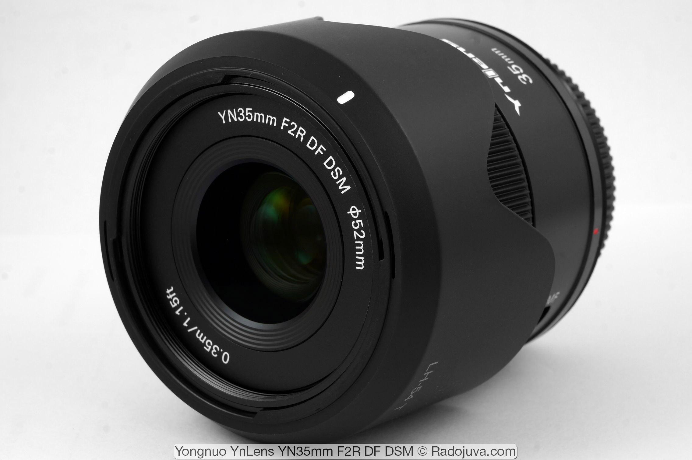 Yongnuo YnLens YN35mm F2R DF DSM