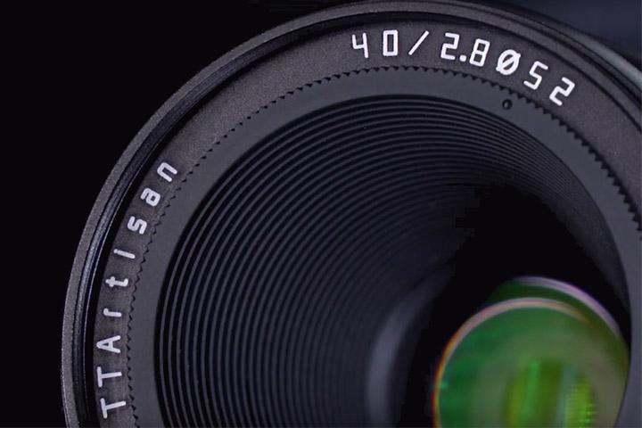 TTArtisan 40mm F2.8 APS-C Macro
