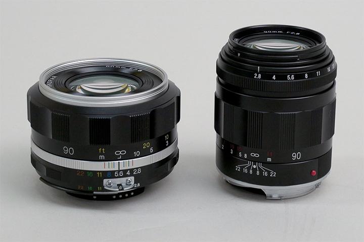 Voigtlander APO-SKOPAR 90mm F2.8, версии SL II S для Nikon F и VM для Leica M