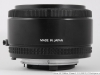 Так выглядит объектив Nikon AF Nikkor 50 mm F 1.8 MK I