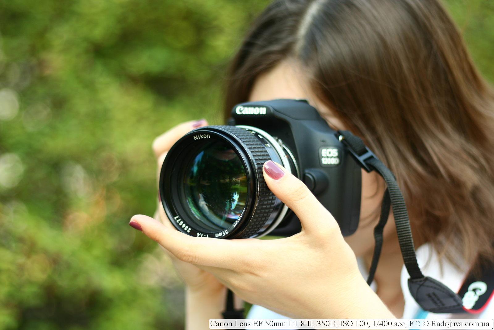 Как сделать фото с canon