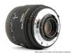 Вид объектива Sigma 50 мм 2.8 DG Macro D EX