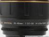 Вид объектива Tamron SP AF 20-40 2.7-3.5 Aspherical 266D